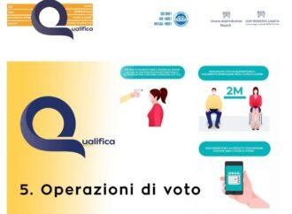 Elezioni in totale sicurezza con un protocollo e un video di Qualifica Group