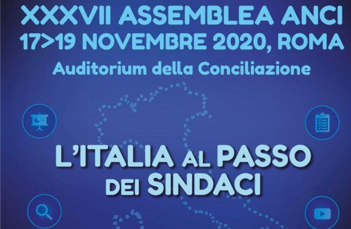 I Sindaci al centro della XXXVII Assemblea Anci il 17, 18 e 19 novembre