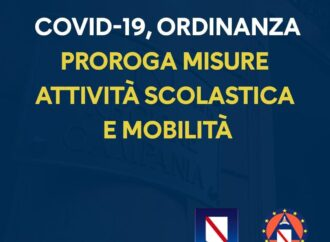 De Luca conferma: nelle scuole didattica a distanza fino al 14 novembre