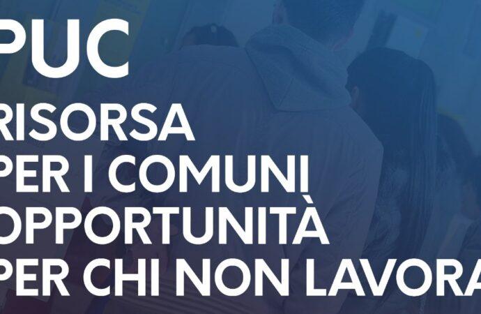 Progetti utili alla Collettività (PUC): lunedì incontro in Regione con i Comuni