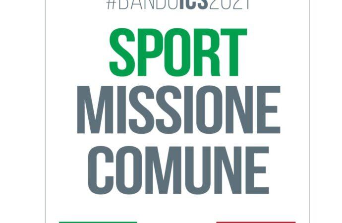Sport Missione Comune, bando ICS: abbattuti interessi sui mutui 2021