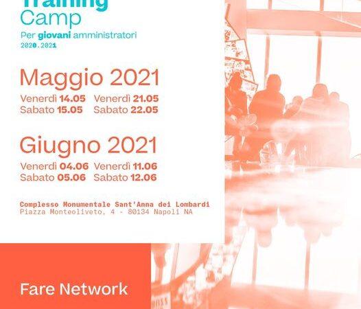 Ripartono i Training Camp. Presidente Marino (video): iscrivetevi (compila il form)