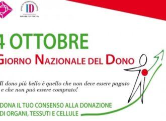 'Giorno del Dono': adesioni attive fino al 12 settembre, morali fino al 4 ottobre