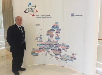 Ciasullo nell'Organismo </br>dei Poteri Locali e Regionali del Consiglio d'Europa