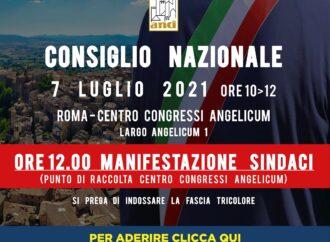 Il 7 luglio i Sindaci a Roma: tetto dei mandati, abuso d'ufficio e retribuzioni, le nostre prime richieste
