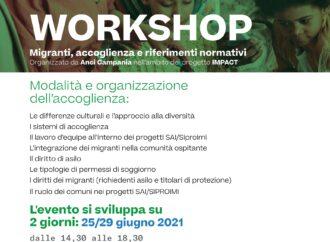 Migranti e accoglienza: il 25 e 29 giugno la quinta edizione del workshop