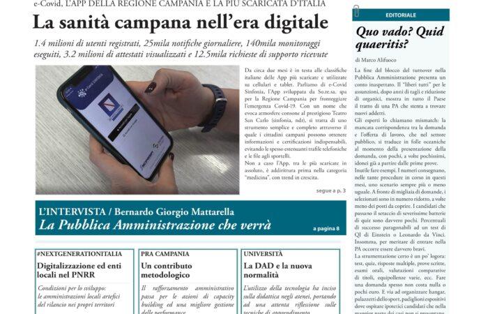 Nuovo numero di Poliorama: il successo delle app anticovid </br>e la digitalizzazione