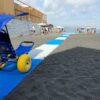 A Ercolano c'è la prima passerella per disabili </br>su una spiaggia libera