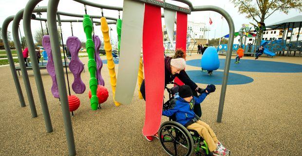 Disabilità: dalla Regione 100.000 euro per realizzare aree-giochi inclusive