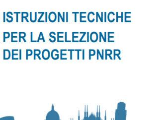 Istruzioni Mef ai Comuni per selezionare i progetti da finanziare col PNRR